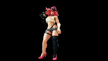 Street Fighter V Poison Render BY  The-Blacklisted