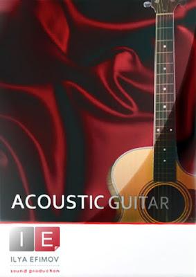 Cover da Library Ilya Efimov - Acoustic Guitar + Strum (KONTAKT)
