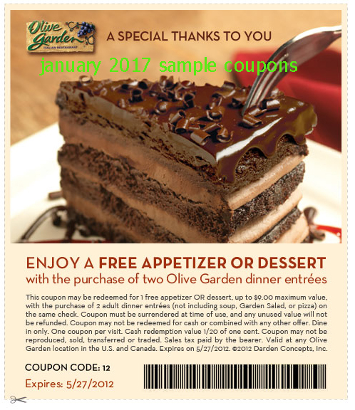 Printable coupons 2018 olive garden coupons for Olive garden coupons october 2016