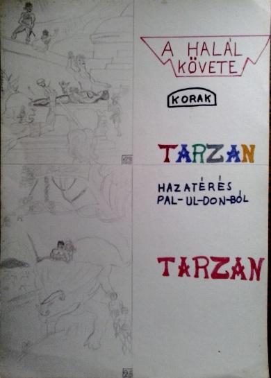Tarzan, Pal-ul-don saját rajz könyvből lerajzolva