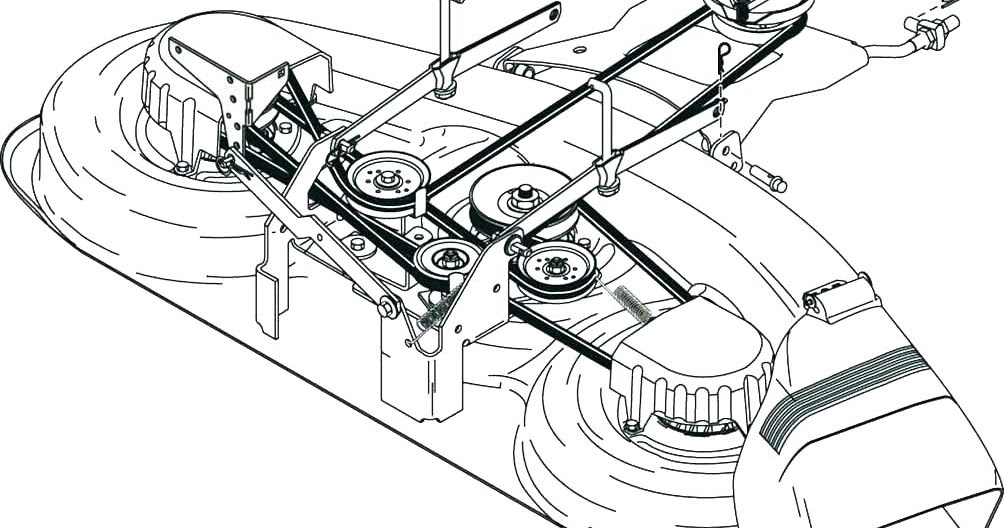 Craftsman 42 Mower Deck Parts Diagram