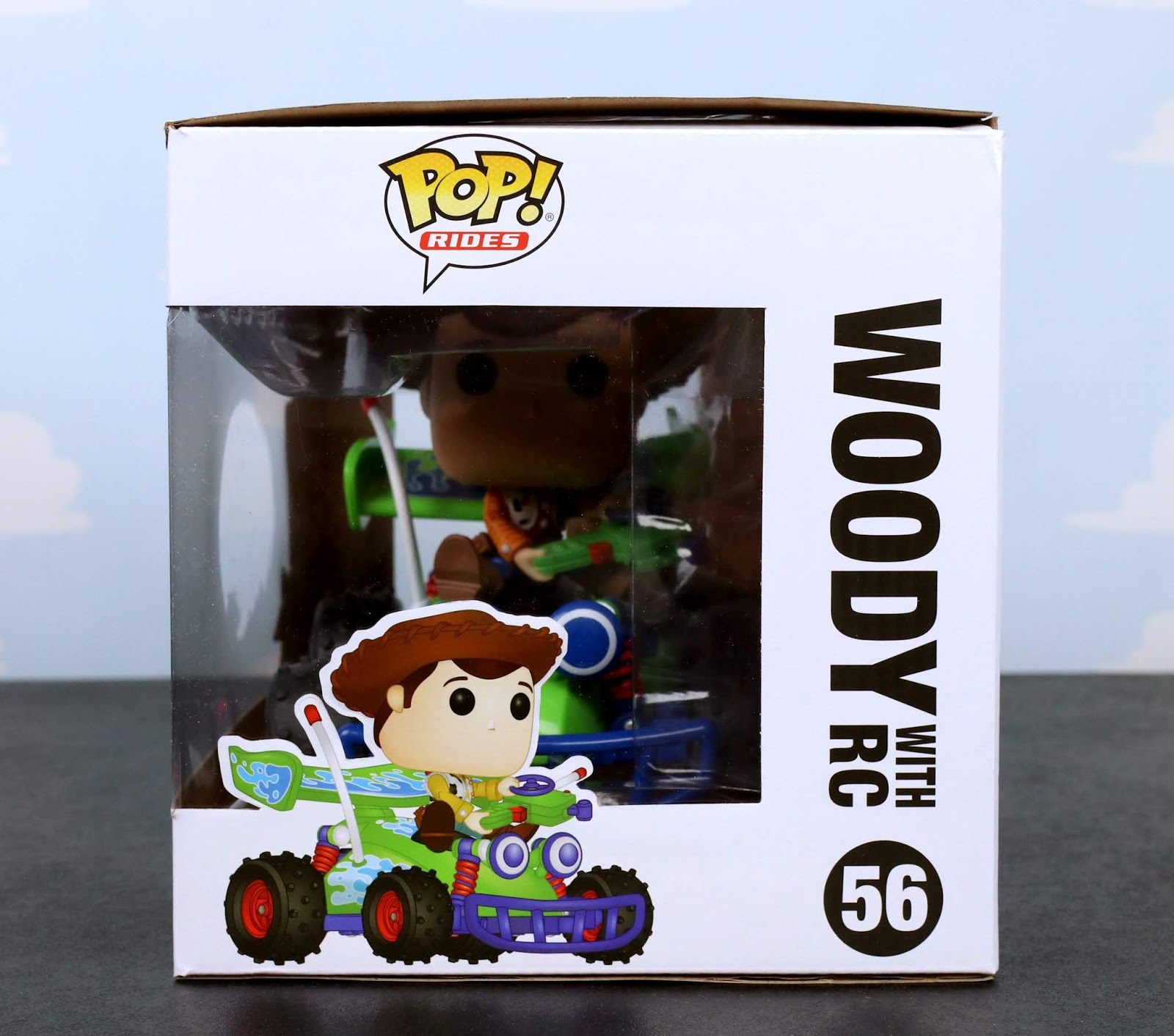 funko pop rides woody and RC review