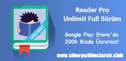 Reader Pro Unlimited Apk   Hızlı Okuma Full