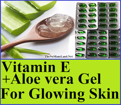vitamin and aloe vera for face care