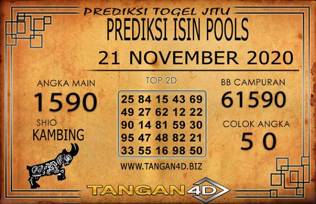 PREDIKSI TOGEL ISIN TANGAN4D 21 NOVEMBER 2020