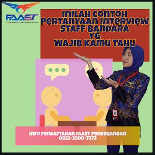 Sekumpulan Contoh Pertanyaan Interview Staff Airlines Yg Wajib Kamu Ketahui