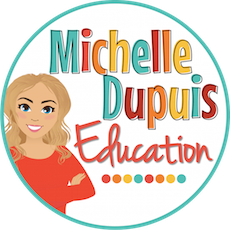 grab button for Michelle Dupuis Education