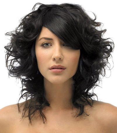 Cool Long Bob Hairstyles With Bangs For Curly Hair Hairstyles For Men Maxibearus