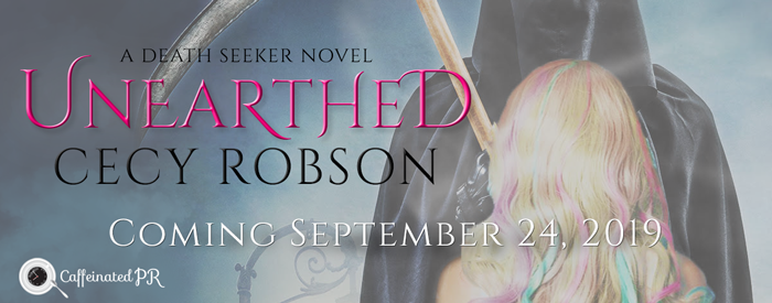 Cover Reveal:  Unearthed by Cecy Robson