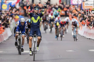 CICLISMO EN RUTA - Valverde se hace con la victoria en Lieja en honor de Scarponi