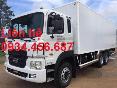 Hyundai HD260 15 tấn ga điện D6CC 380ps