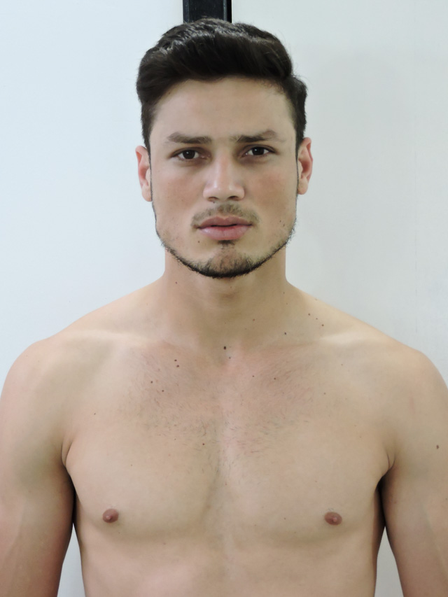 Hernane Prado, o Mister Joinville 2018. Foto: Divulgação