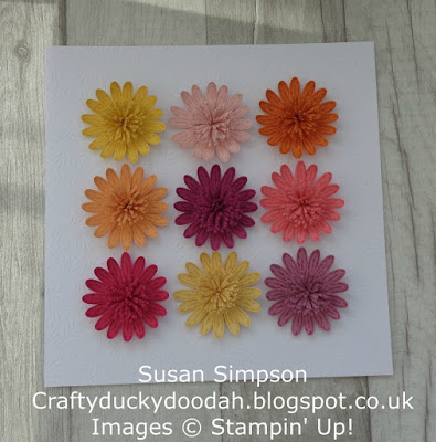 Stampin' Up! UK Independent  Demonstrator Susan Simpson, Craftyduckydoodah!, Daisy Delight, Daisy Punch, Supplies available 24/7 from my online store,