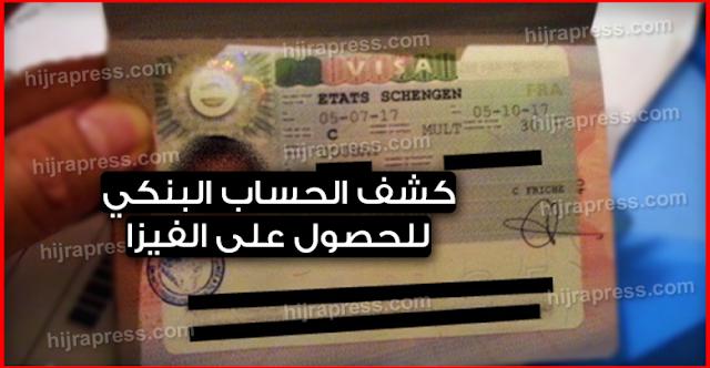 كيفية أنشاء كشف حساب بنكي مظبوط تتقبل بيه في اي سفارة بسهوله