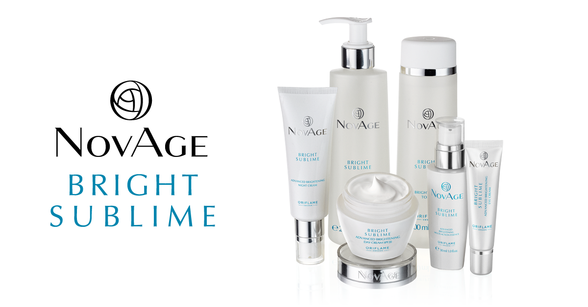 Bright Sublime NovAge da Oriflame