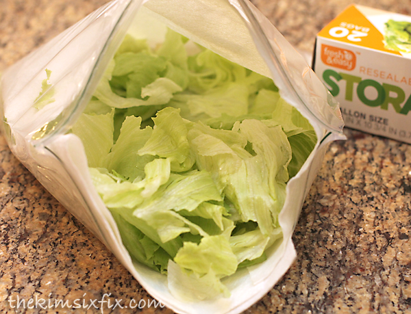 Keep lettuce fresher with this tip.