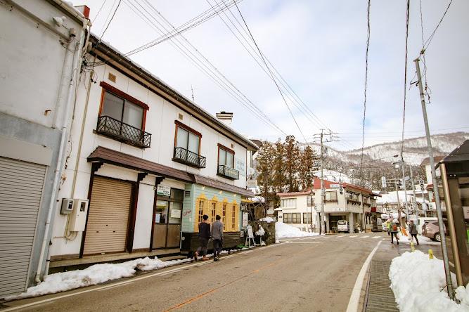 Nozawaonsen Village Nagano Japan