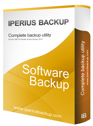 Iperius Backup Full 5.0.2 poster box cover