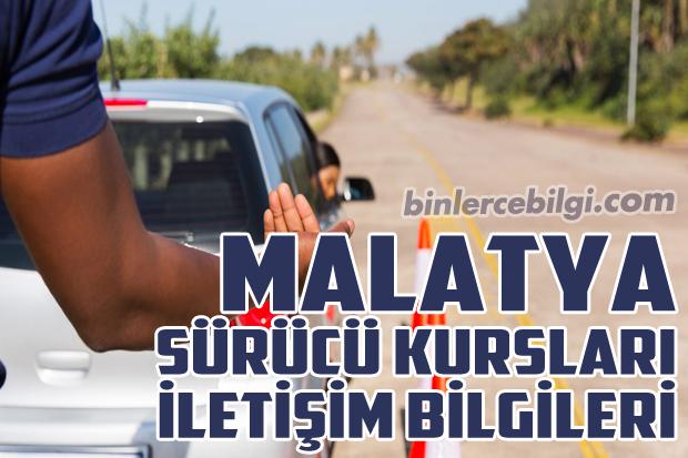 Malatya Sürücü Kursları Listesi, Malatya Sürücü Kursu Fiyatları, Malatya'daki Sürücü Kurslarının Tam Listesi, Malatya Ehliyet Kurs Ücretleri, Malatya Sürücü Kursu Adresleri, Malatya'da bulunan Sürücü Kurslarının Telefonları ve iletişim bilgileri.