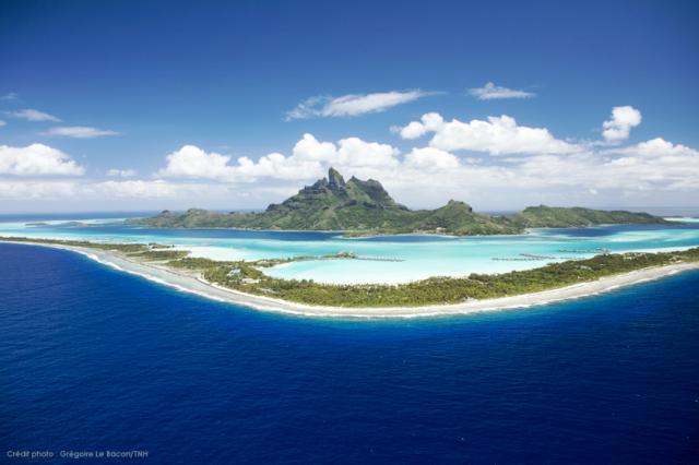 Bora Bora, uma das mais belas ilhas da Polinésia Francesa