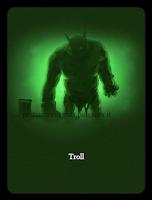 Un Troll, immagine proveniente dalle vecchie illustrazioni per il test dello Smistamento