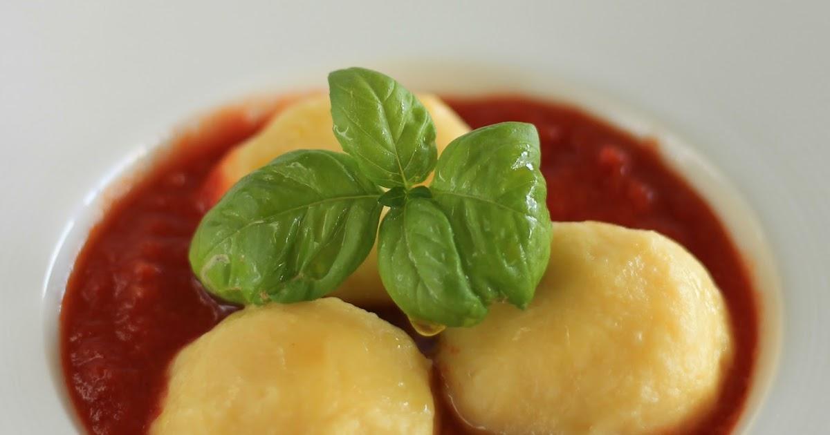 Gnocchi ripieni di mozzarella