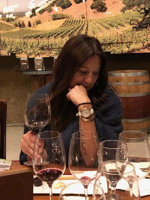 Melissa at Porter Family Vineyards