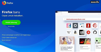 perangkat lunak untuk mengakses internet (mozilla firefox)