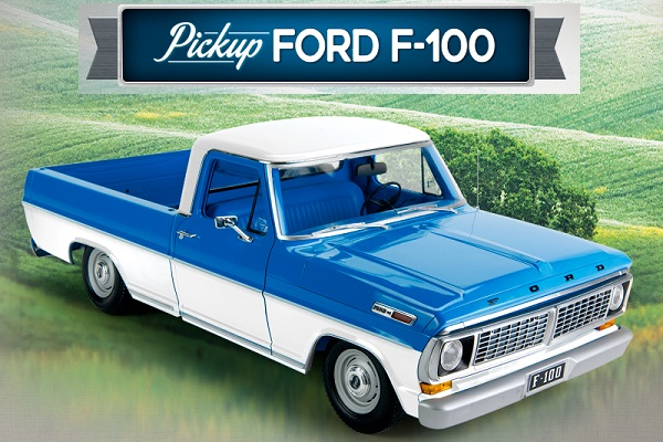 colección de la Ford F-100 a escala 1/8