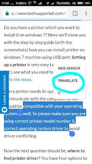 cara translate browser ke bahasa indonesia