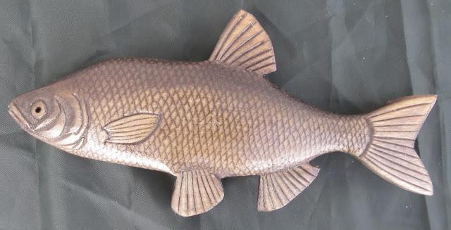 деревянные рыбы России - голавль