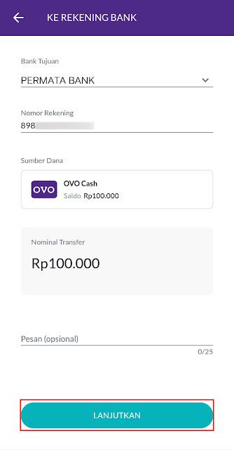 Top Up Saldo GOPAY Tanpa Biaya Admin via OVO