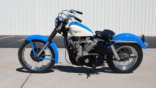 Harley-Davidson Sportster 1950s American classic motorcycle