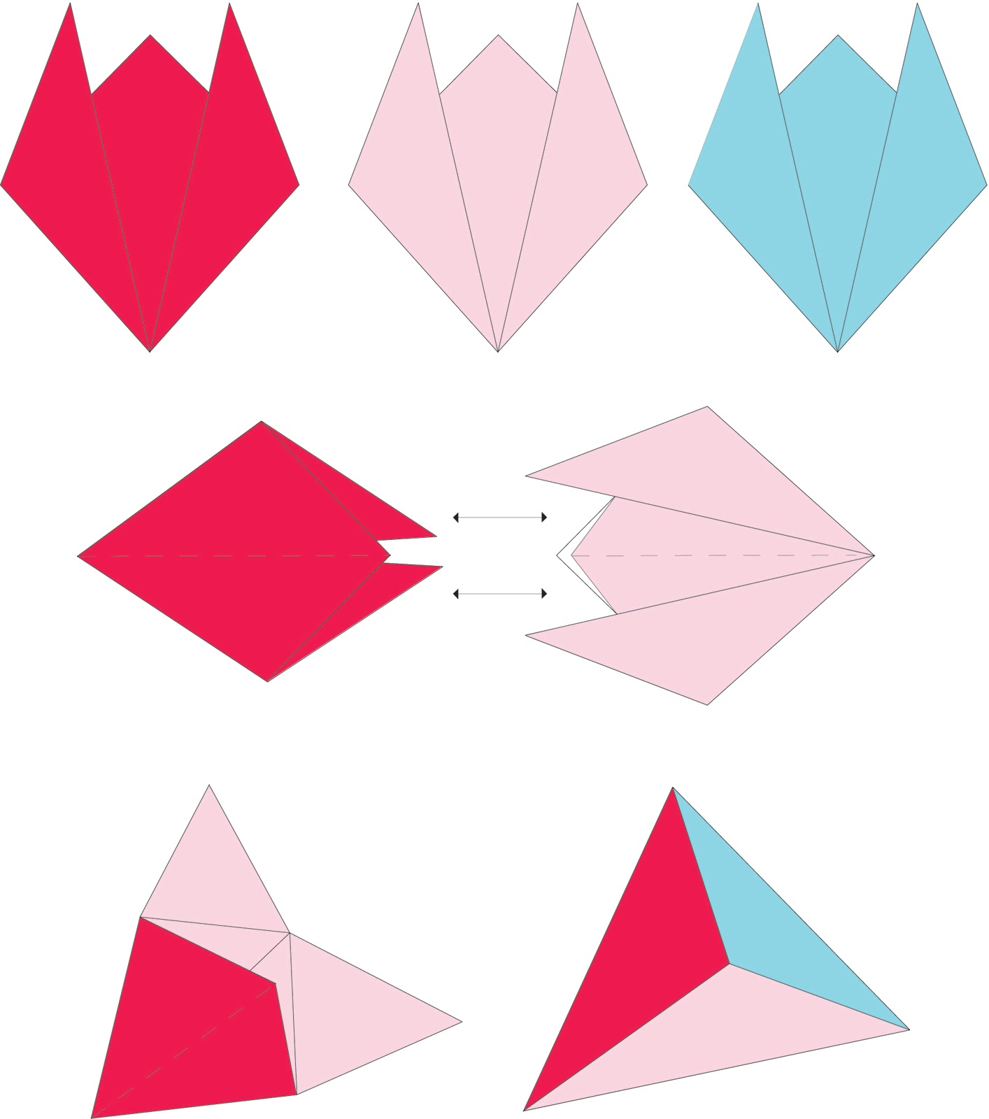 Småkompisar: Make an Origami Box for Small Gifts like ... - photo#3