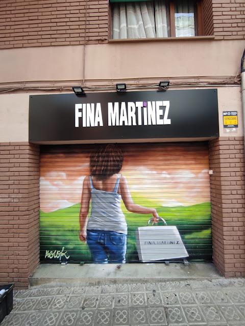 Graffiti persiana tienda