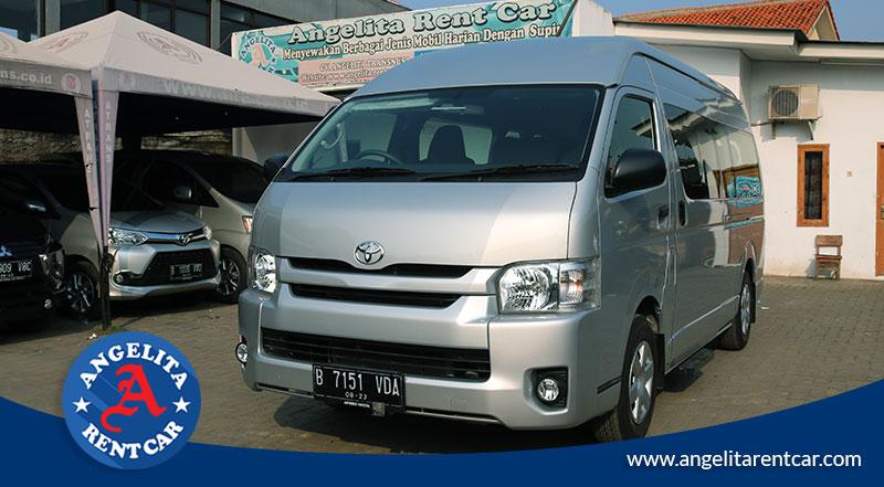 Rental Mobil Toyota Hiace murah di jakarta