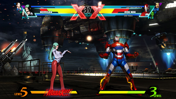 Ultimate Marvel vs Capcom 3 Game Setup