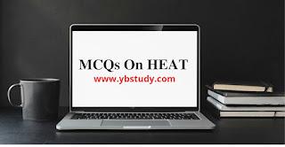Mcqs on heat class 7