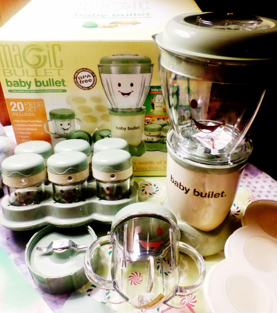 Top Notch Material Magic Baby Bullet Giveaway