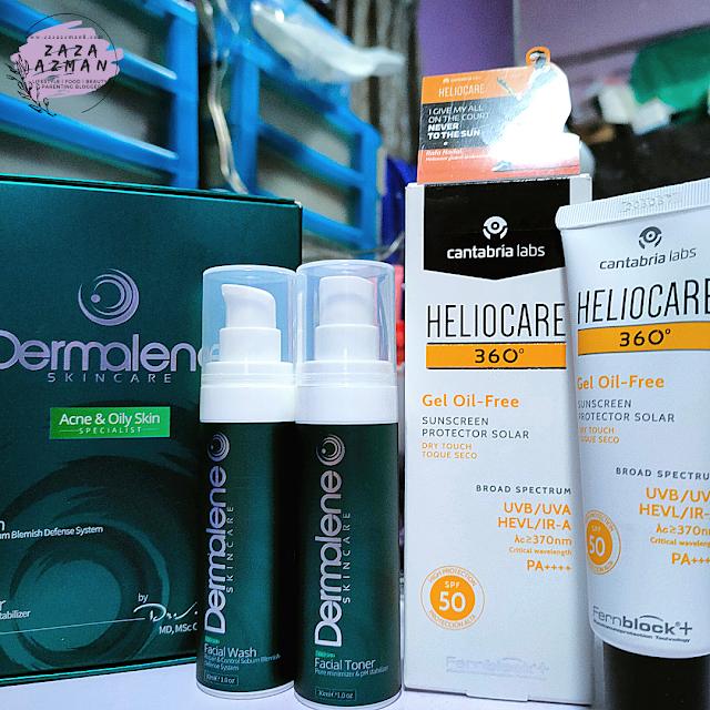 Dermalene skin care products
