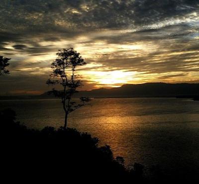 Indahnya Sunset di Bukit Tarabunga