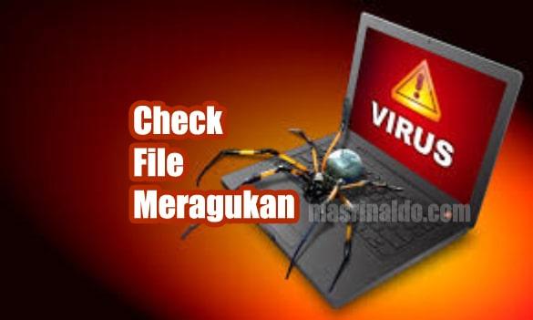 Menggunakan Tools VIRUS TOTAL Untuk Mengecek Keamanan File Exe