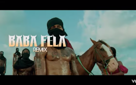 "DOWNLOAD VIDEO: Mr Real – ""Baba Fela Remix"" ft. Zlatan, Laycon"