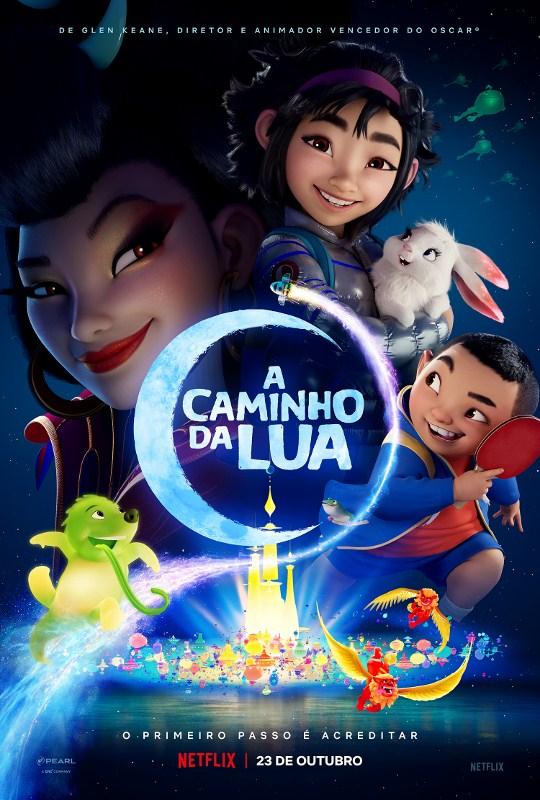 'A Caminho da Lua' ganha trailer e pôster oficial