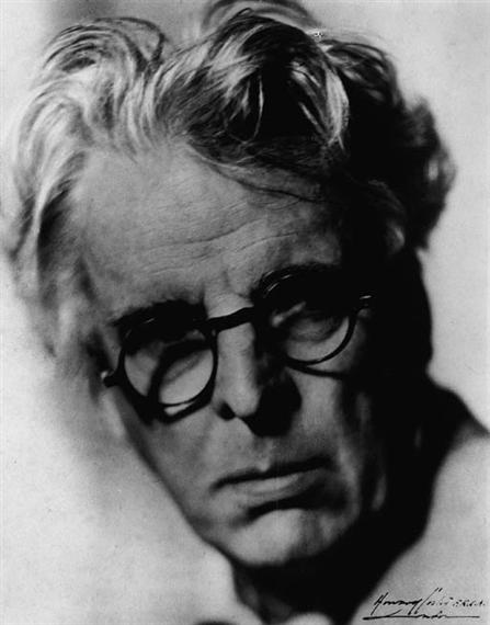 c57c77aaa Para ilustrar o que disse, escolhi, dessa segunda parte de Vidas Escritas,  o retrato do poeta W. B. Yeats (1865-1939), tirado por Howard Coster, em  1935, ...