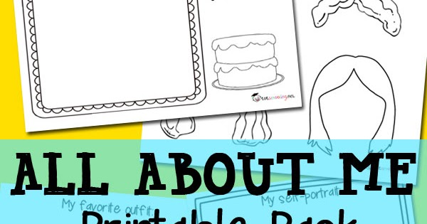 All About Me Free Printable Pack Totschooling Toddler Preschool Kindergarten Educational Printables