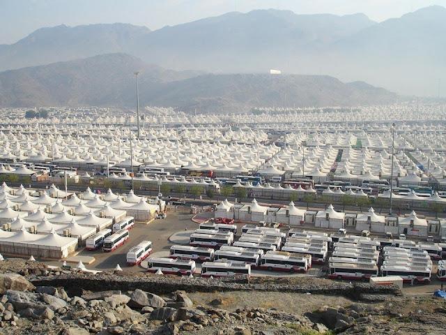 Mina, thành phố của lều trại