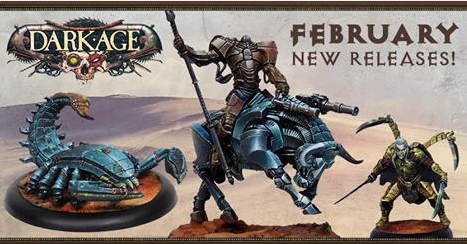 Dark Age.....February Releases- Saint Luke Mounted and more.