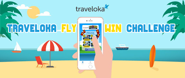"Jom Sertai Peraduan ""Traveloka Fly & Win CNY Chanllenge"""