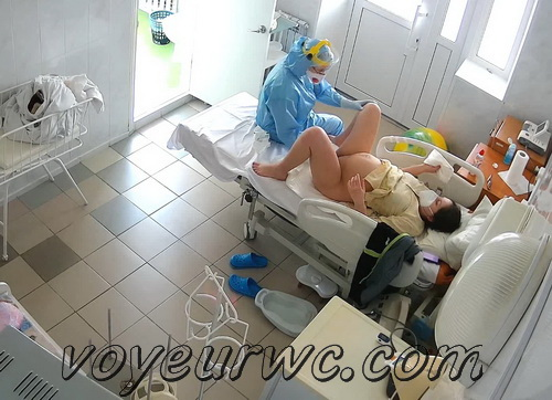 Gyno exam of pregnant woman SpyCam (Examination During Pregnancy 05)